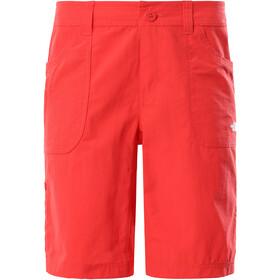 The North Face Horizon Sunnyside Pantalones cortos Mujer, rojo